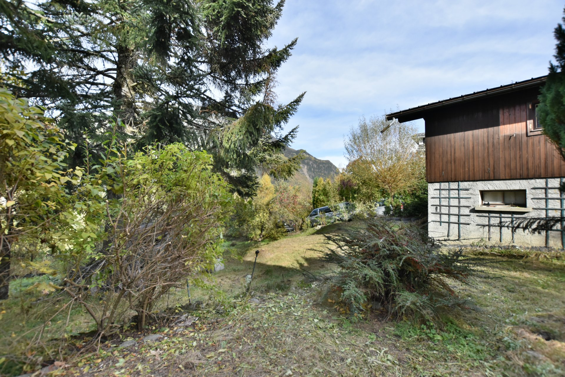 Chalet-Les Houches center