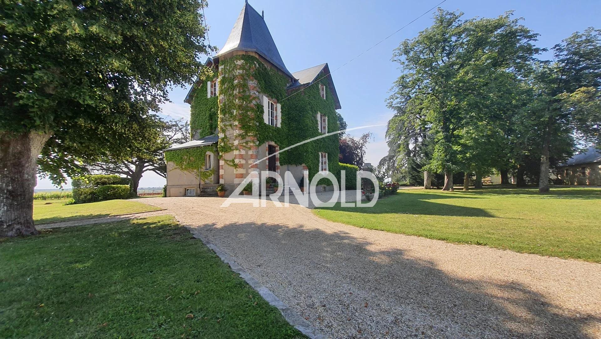 Au cœur de l'Anjou, Manoir  et ses trois gîtes classés 5*