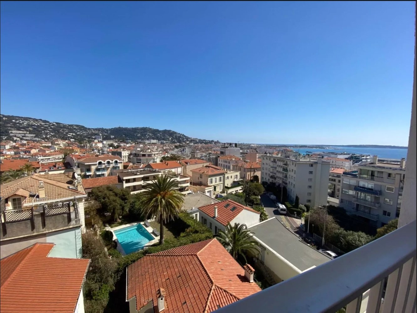 Studio avec terrasse et parking, Cannes Centre