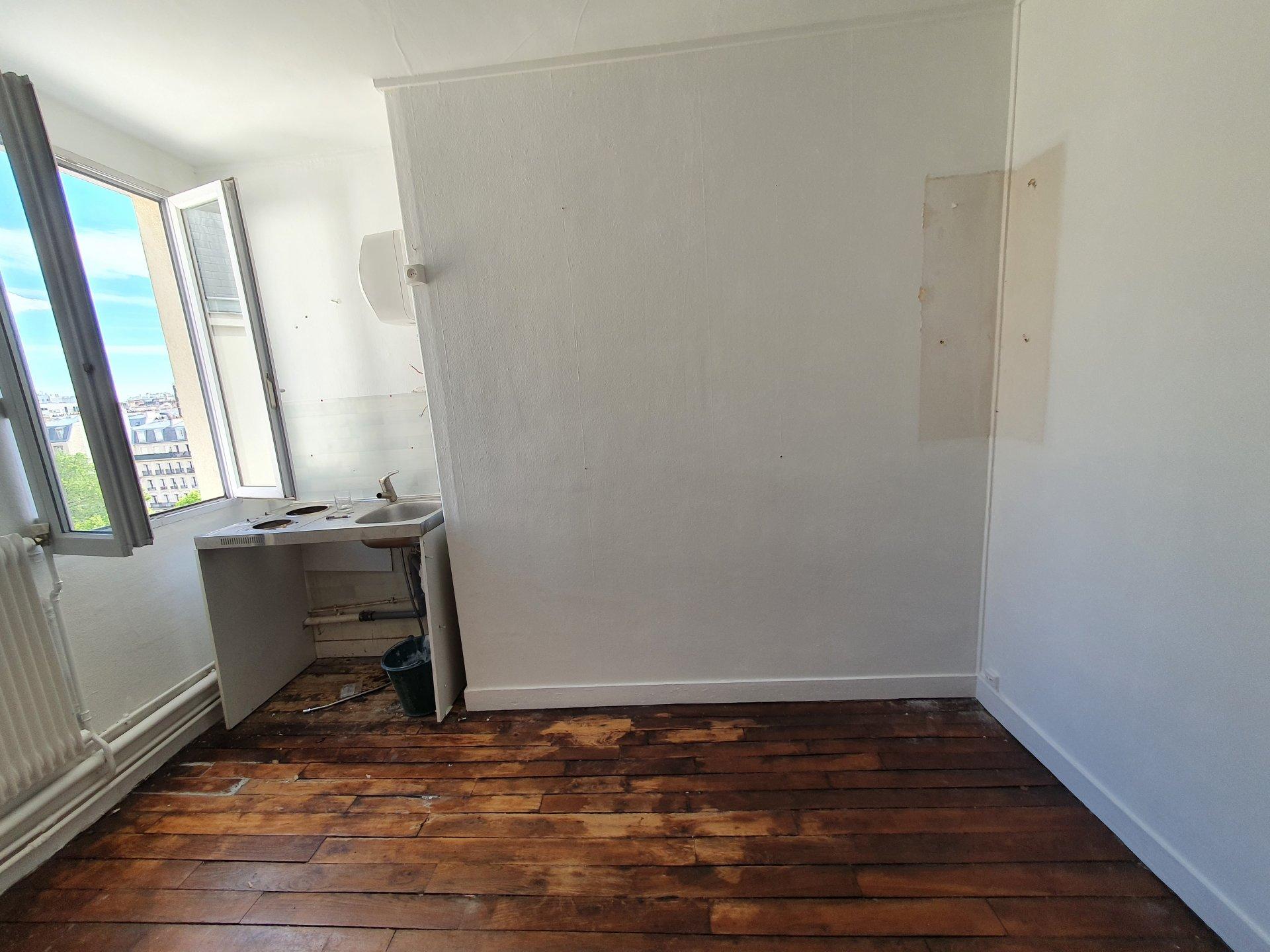 Studette - 8,5 m² à vendre  - PARIS 15