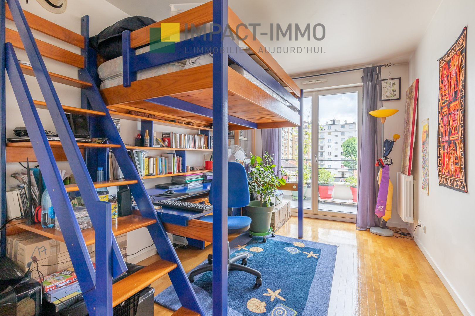 4 Chambres - 107m² - Cœur Becon