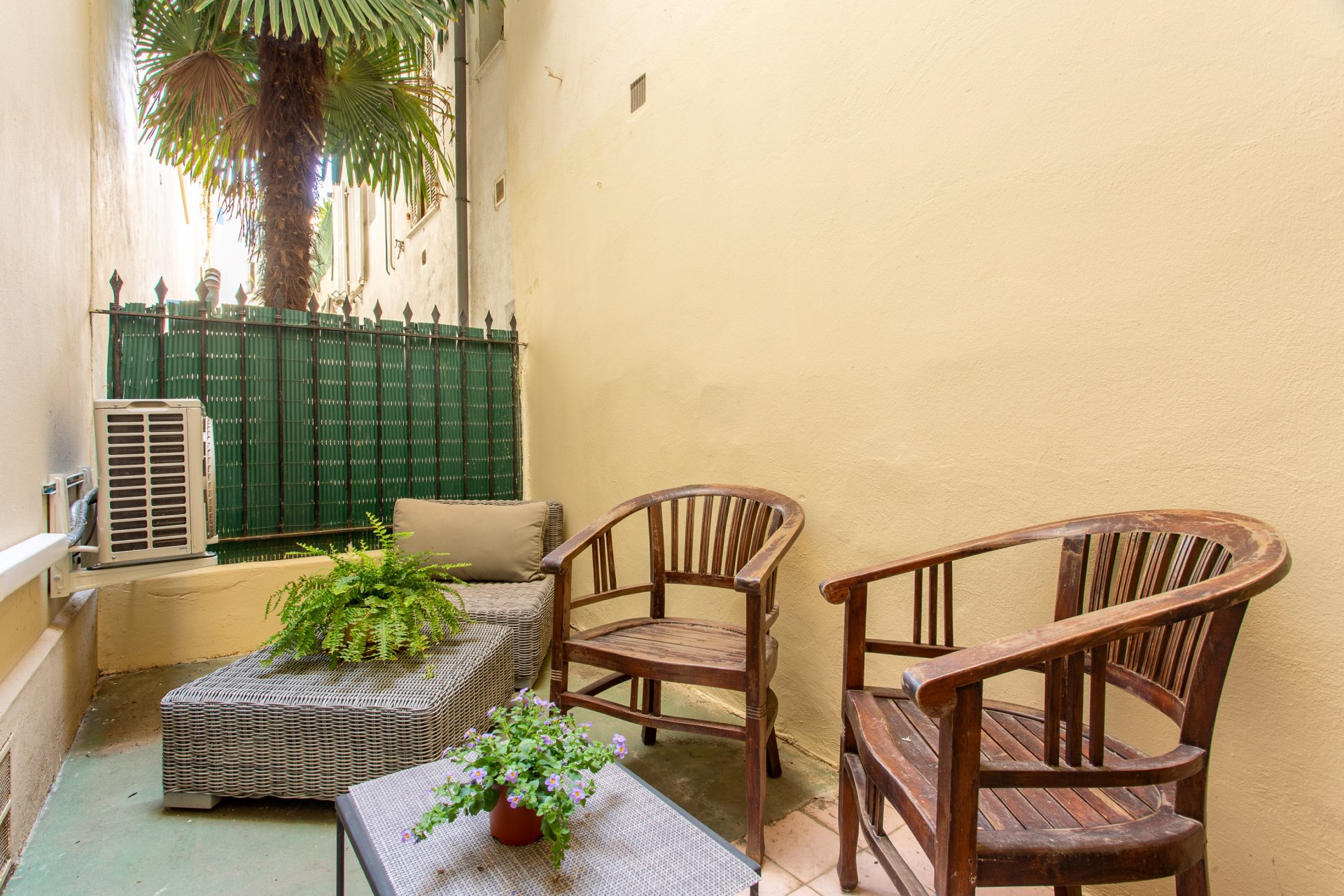 Nice Musiciens - Near Victor Hugo / Alsace Lorraire - 1 bedroom flat with terrace in Art Déco building