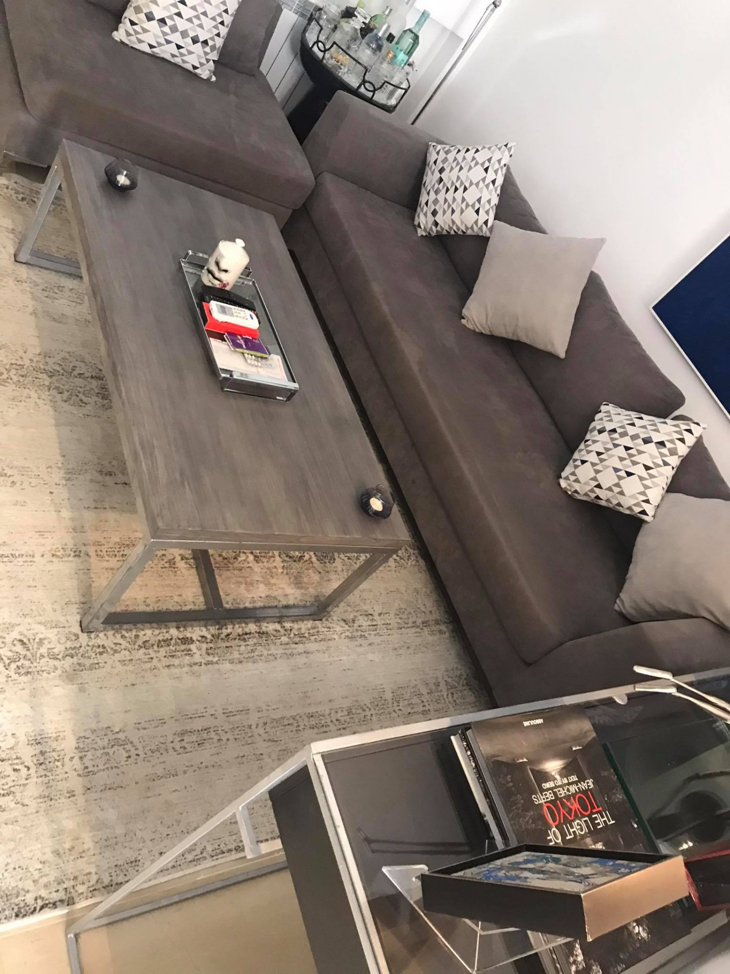 Location Appartement S+1 meublé Ain Zaghouan Nord