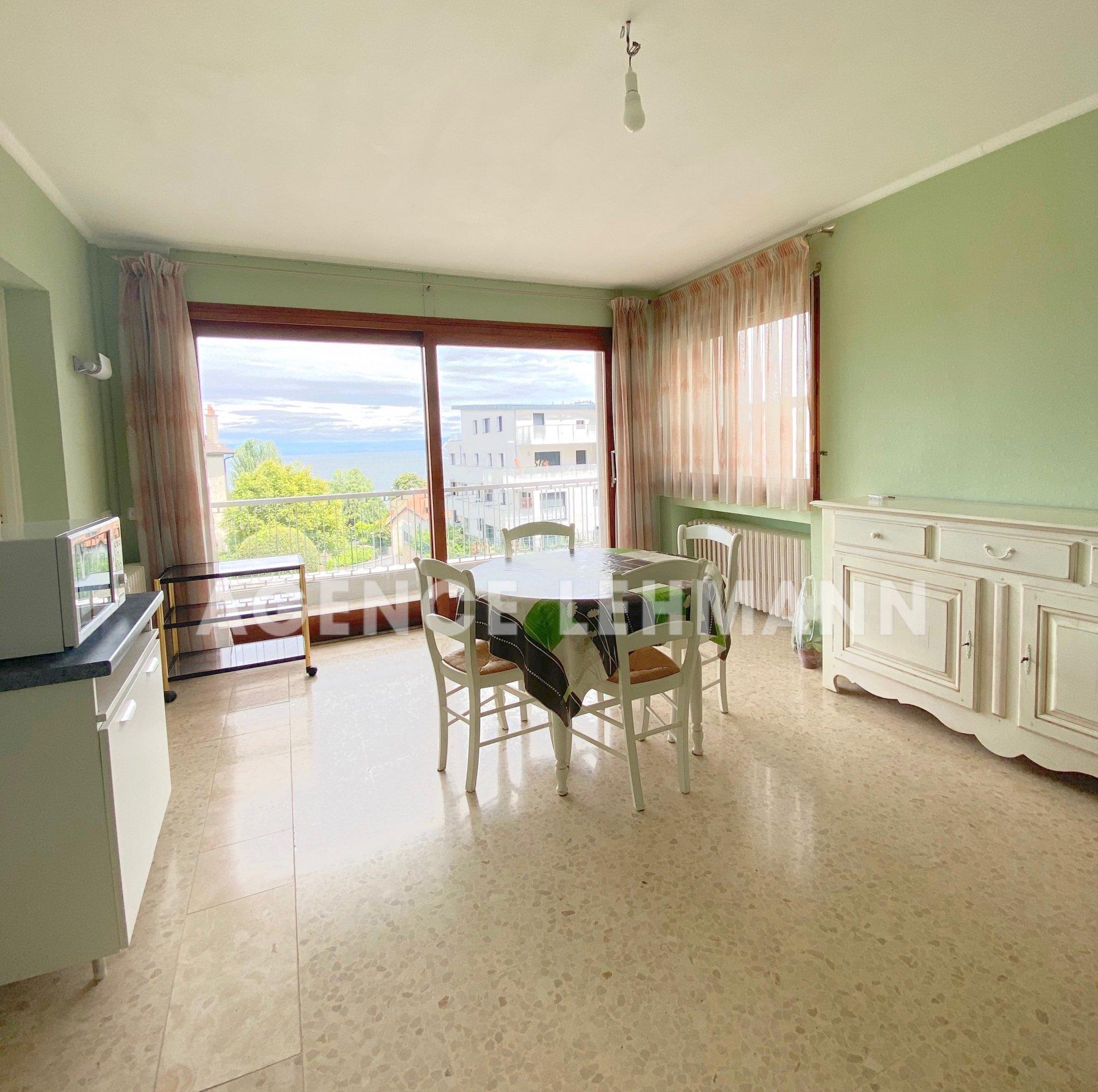 Appartement T1 Bis avec vue Lac