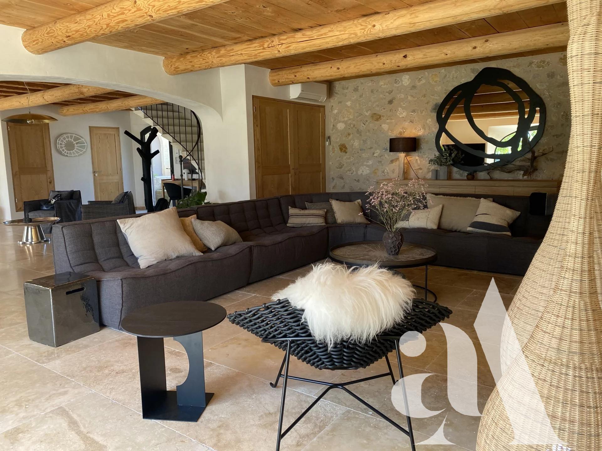 MAS SONIA - MAUSSANE LES ALPILLES - 5 chambres - 10 personnes