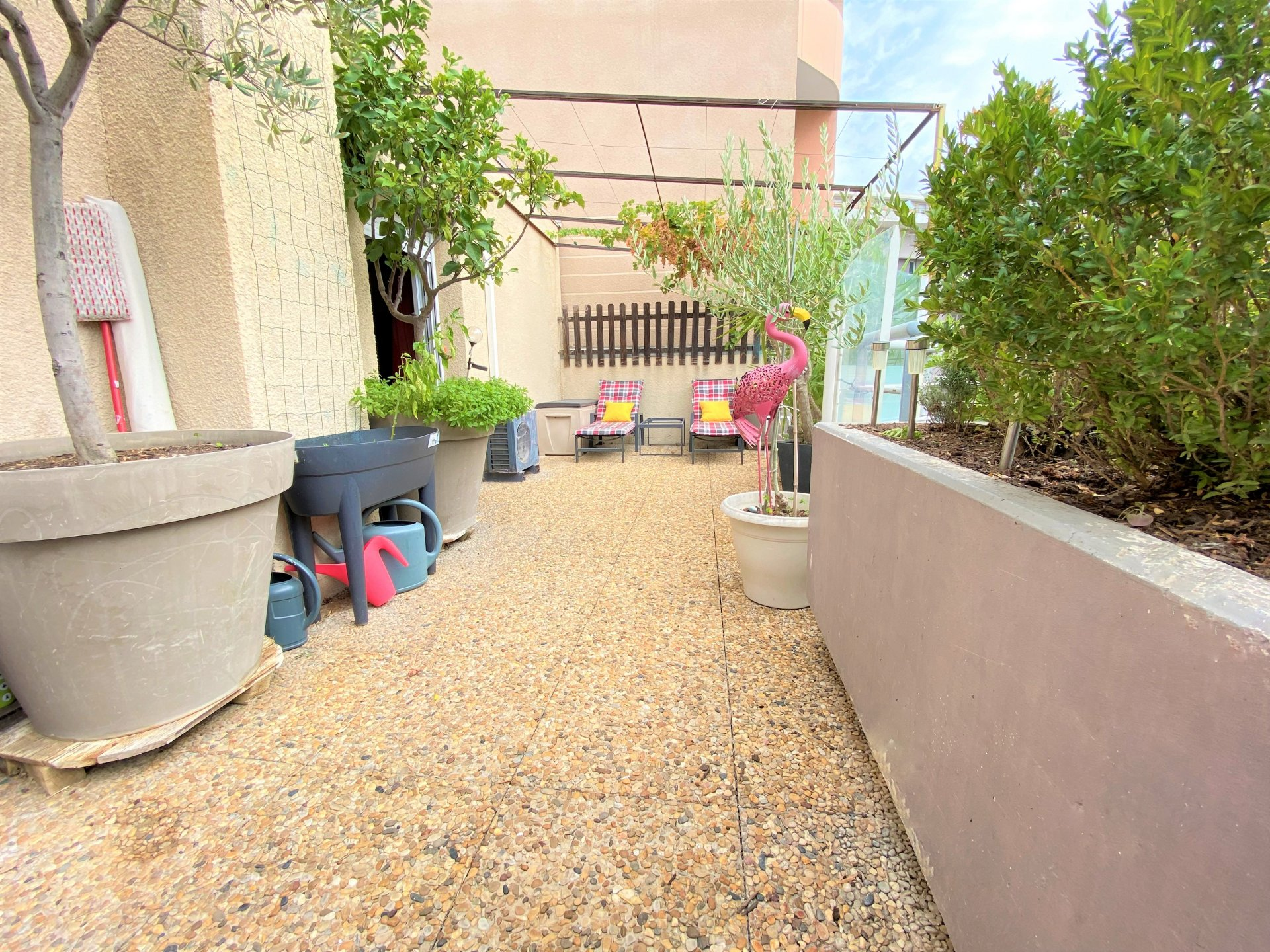Splendide type 5 en toit terrasse