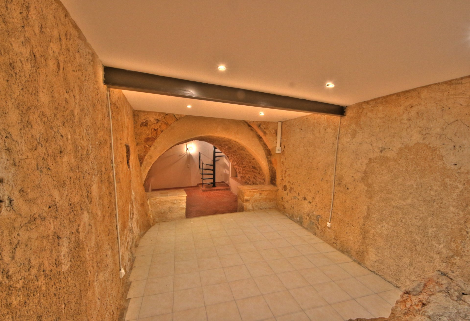 Magnificent vaulted stone cellar, a lot of charm and character, rare