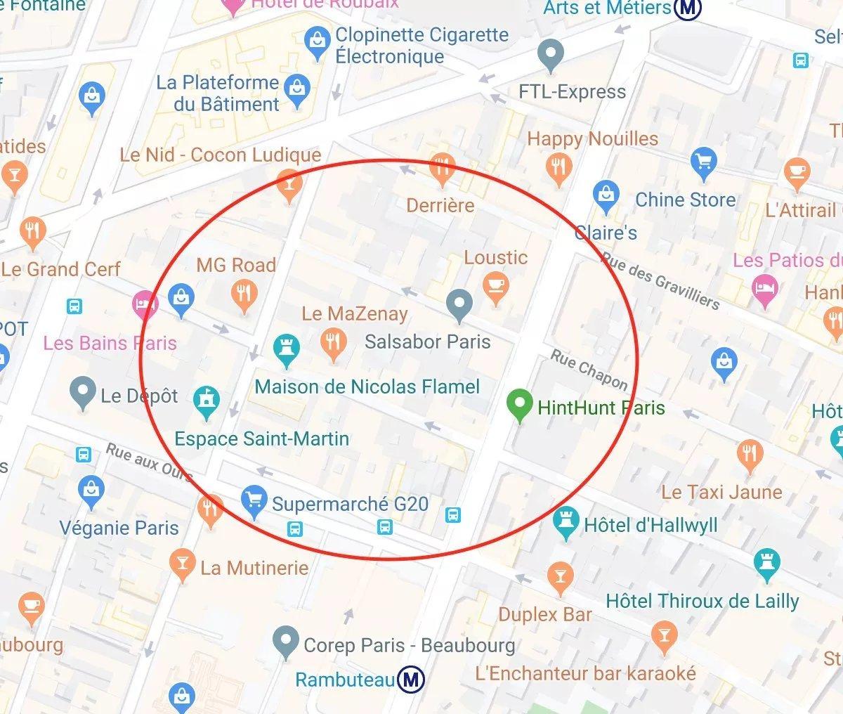 Location Boutique - Paris 3ème Archives