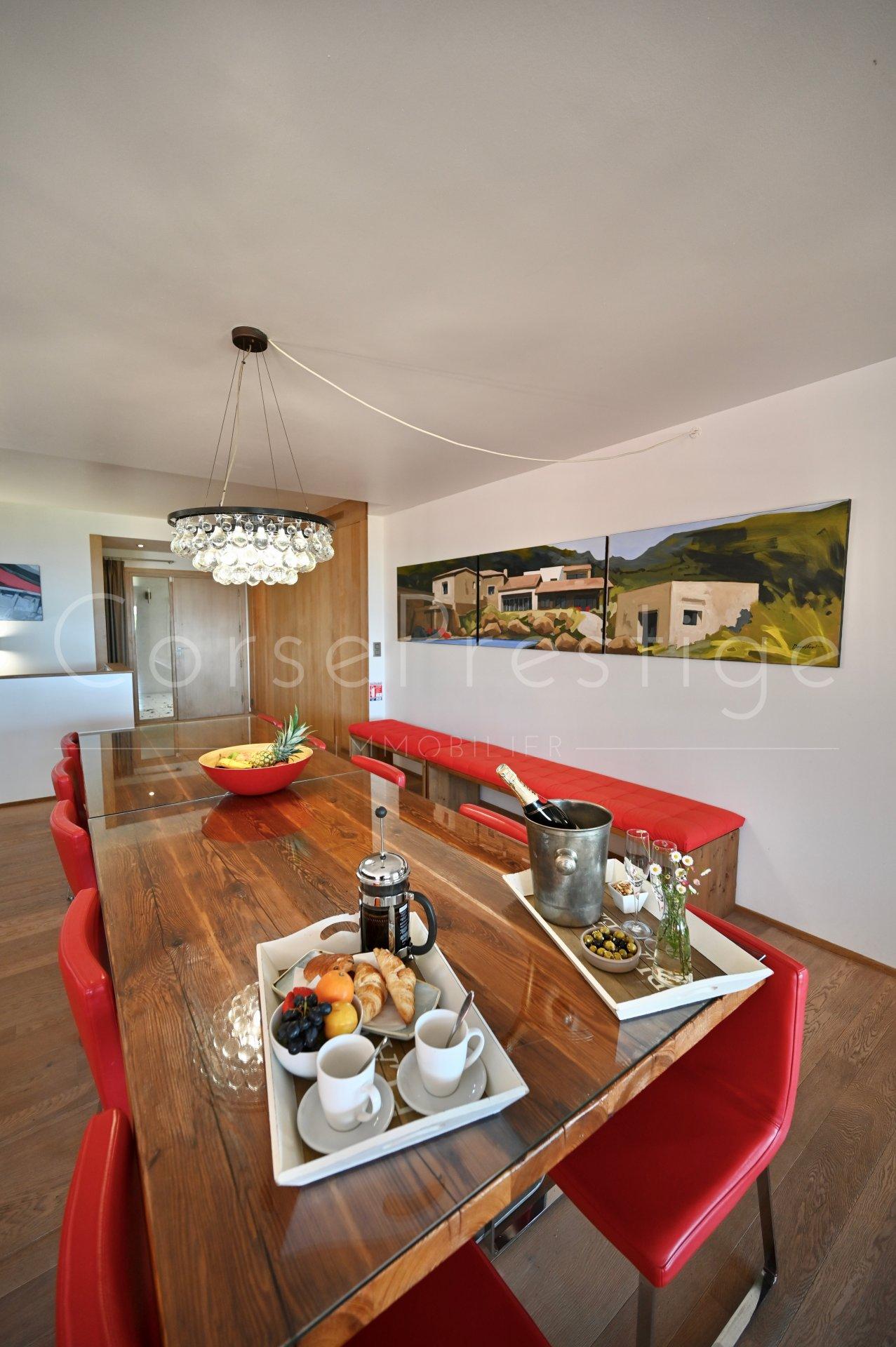 luxury villa for rent in corsica - porto vecchio - palombaggia image10