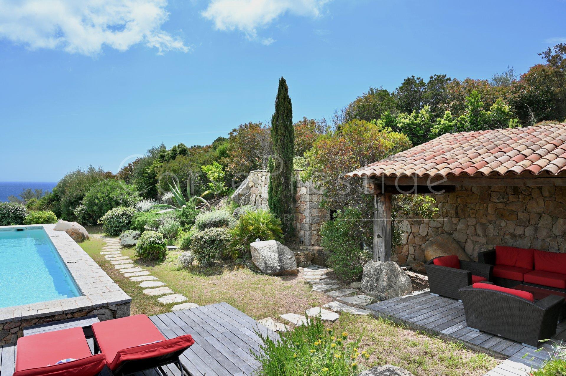 luxury villa for rent in corsica - porto vecchio - palombaggia image6