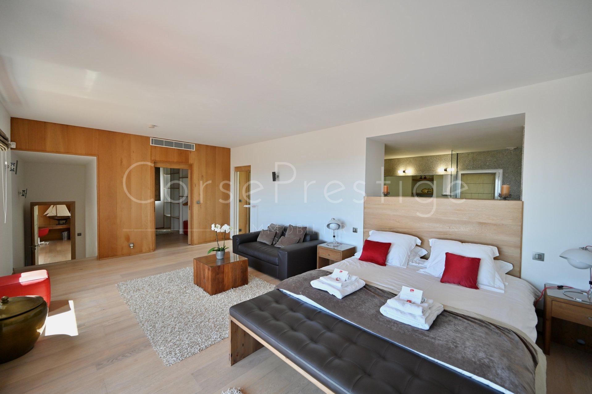 luxury villa for rent in corsica - porto vecchio - palombaggia image8