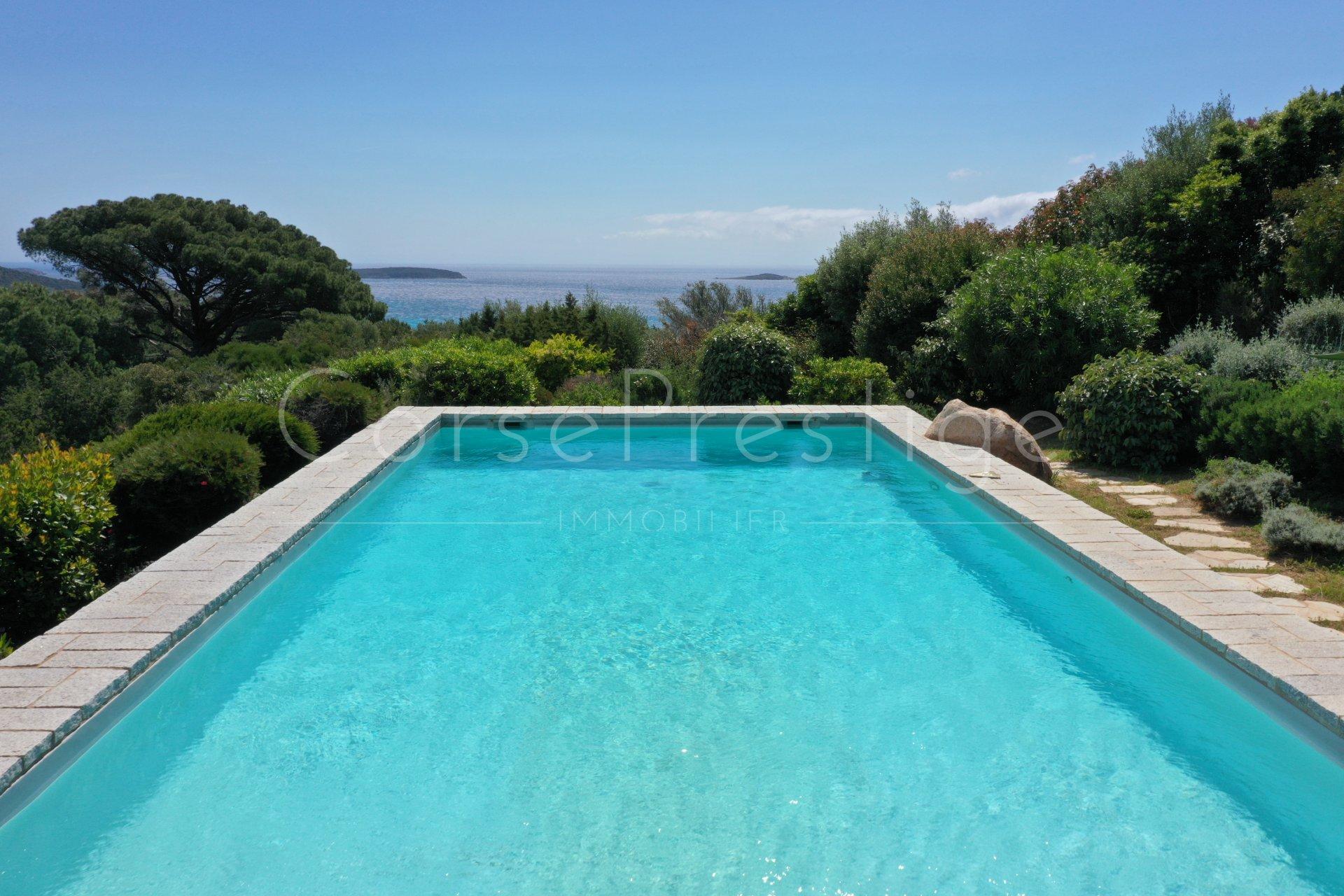 luxury villa for rent in corsica - porto vecchio - palombaggia image4