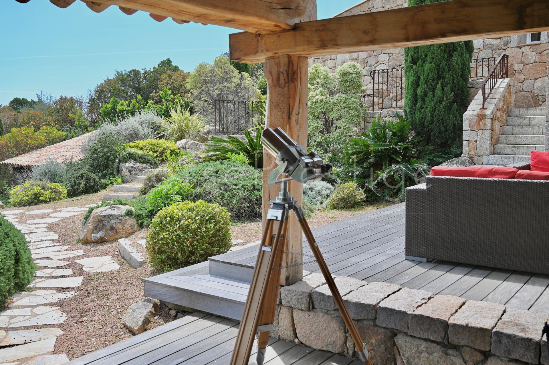 luxury villa for rent in corsica - porto vecchio - palombaggia image3