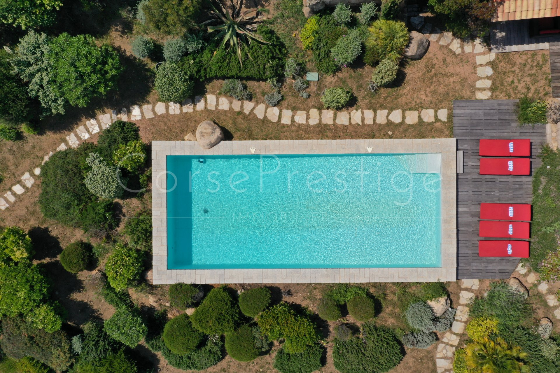 luxury villa for rent in corsica - porto vecchio - palombaggia image2