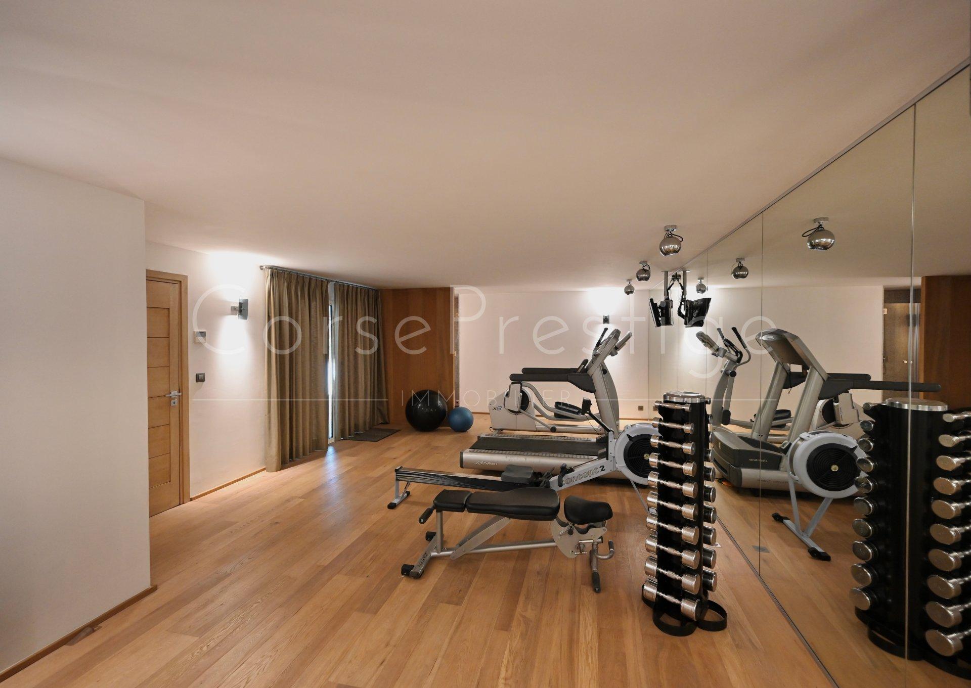 luxury villa for rent in corsica - porto vecchio - palombaggia image12