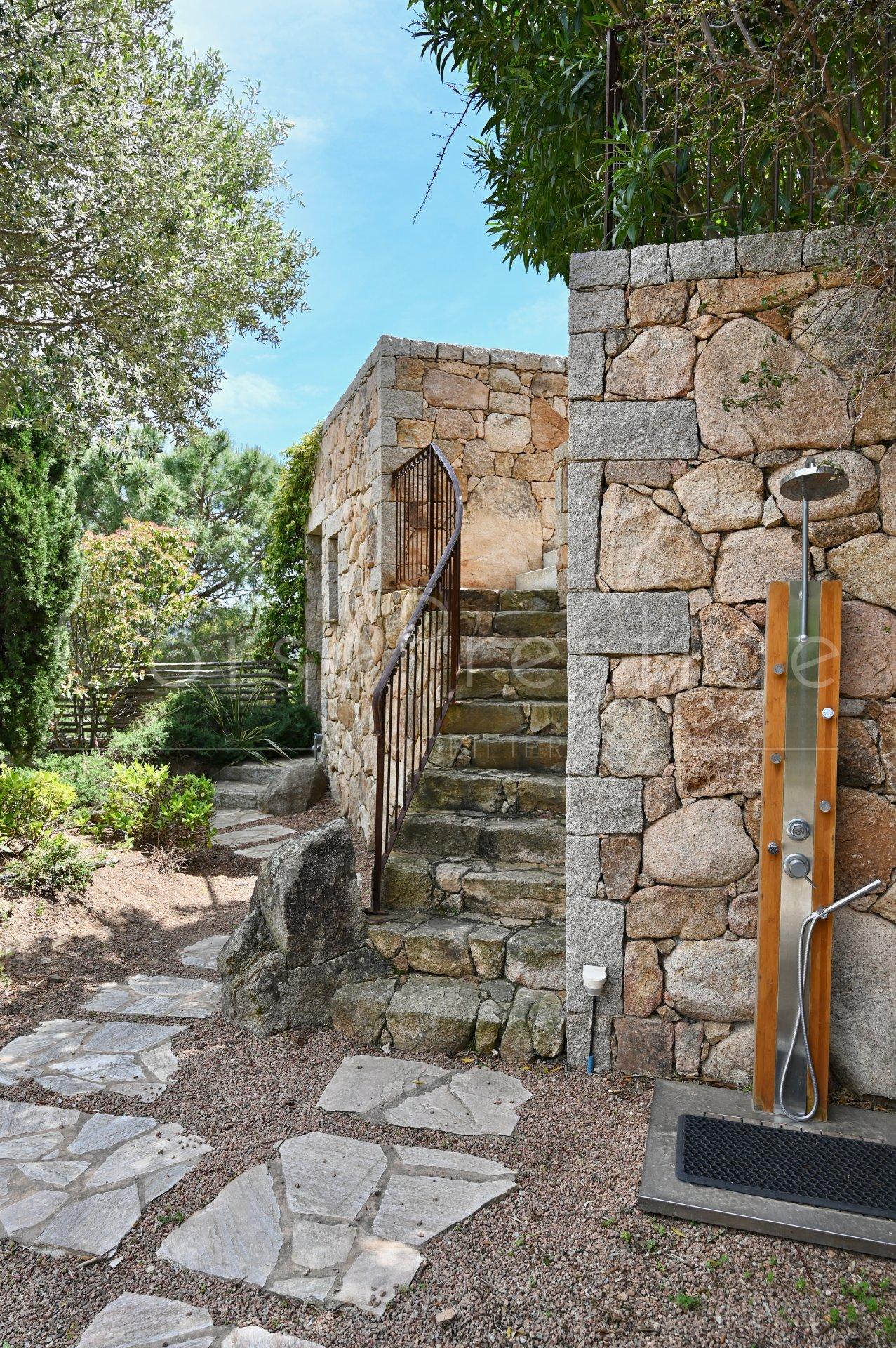 luxury villa for rent in corsica - porto vecchio - palombaggia image13