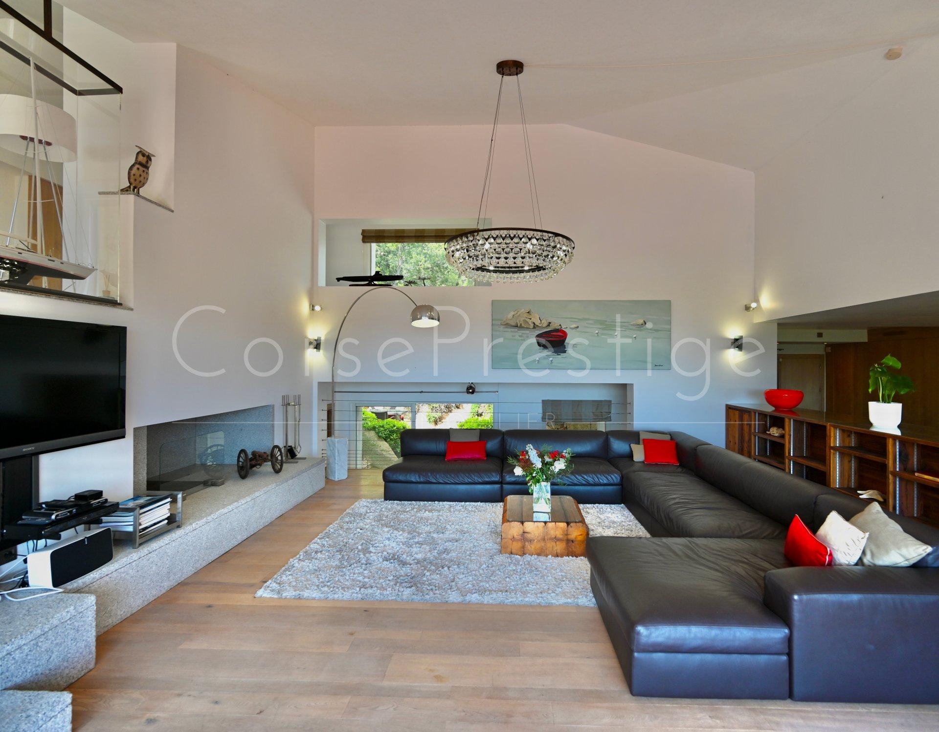 luxury villa for rent in corsica - porto vecchio - palombaggia image5
