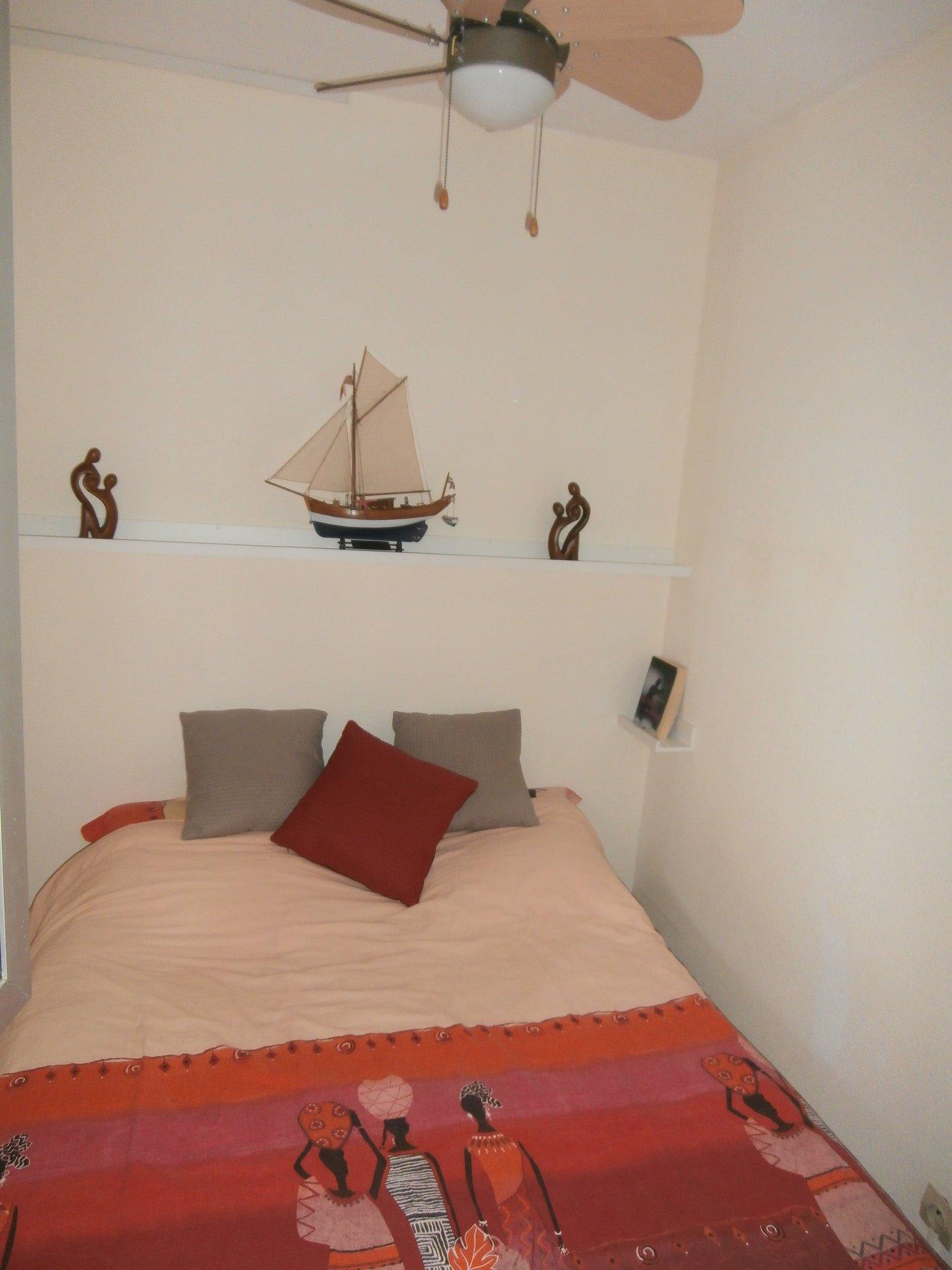 T2 + cabine de 34m² au port de frontignan plage