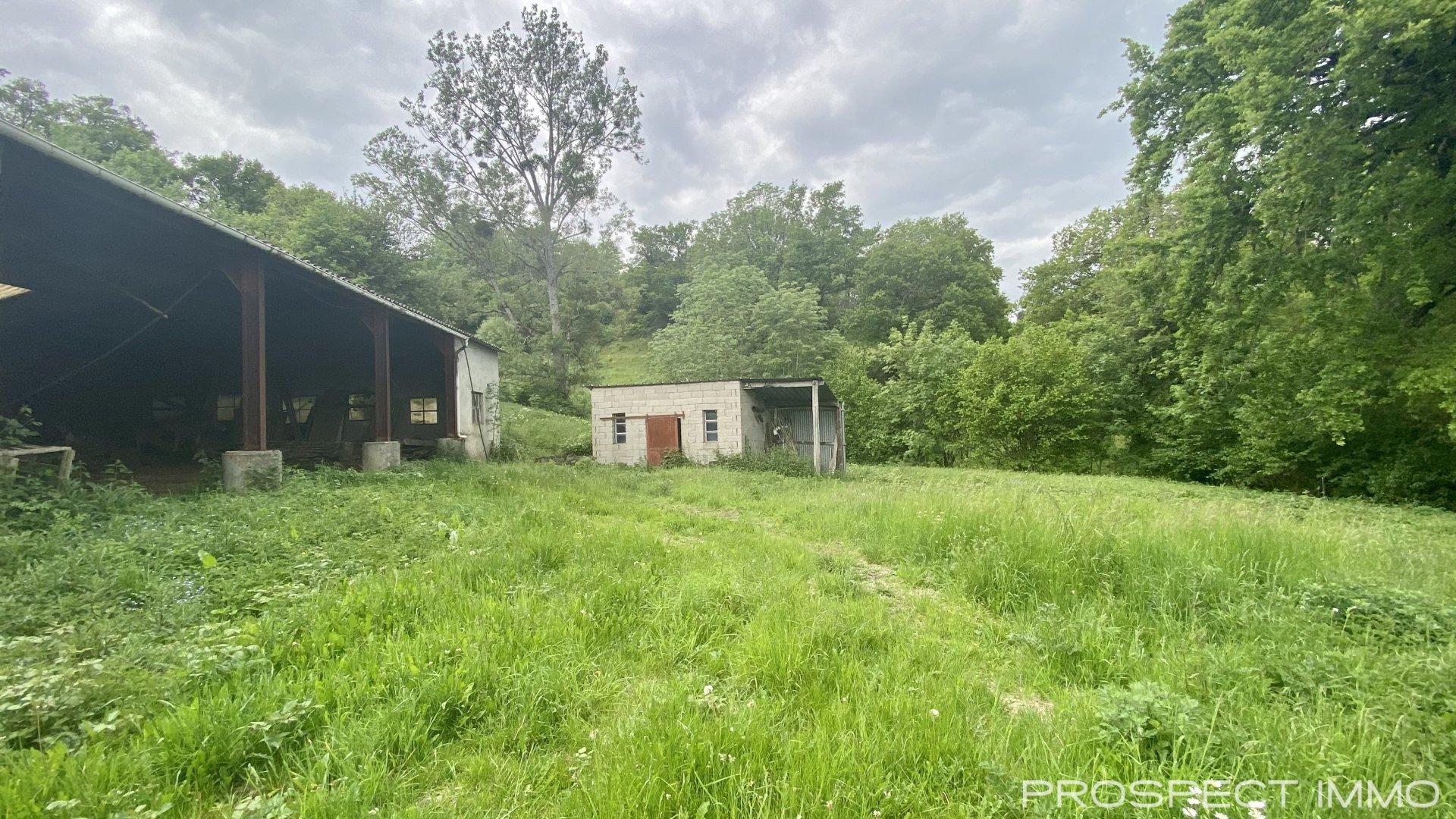 Maison type 4 avec grange, terrain et dépendances