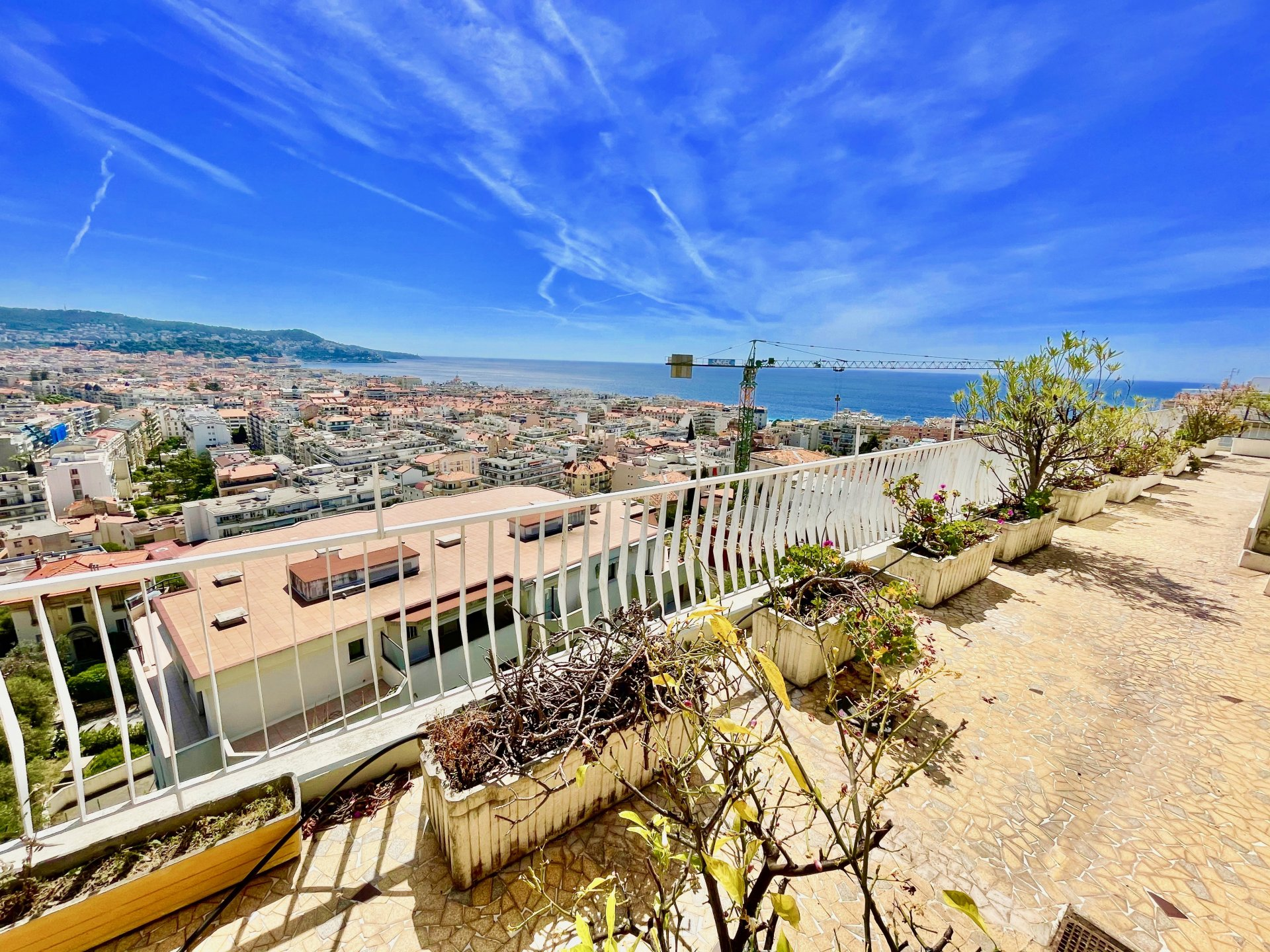 Rare toit terrasse vue Panoramique