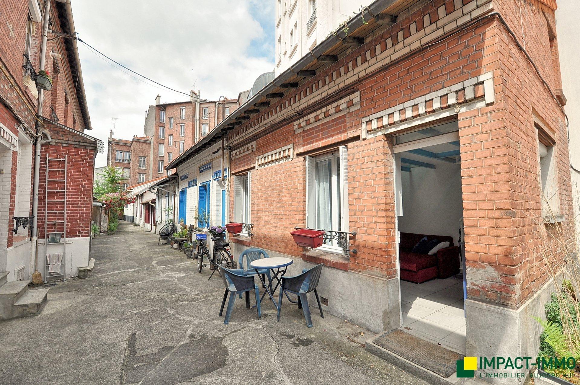 Maison dans impasse privée, Boulogne Centre