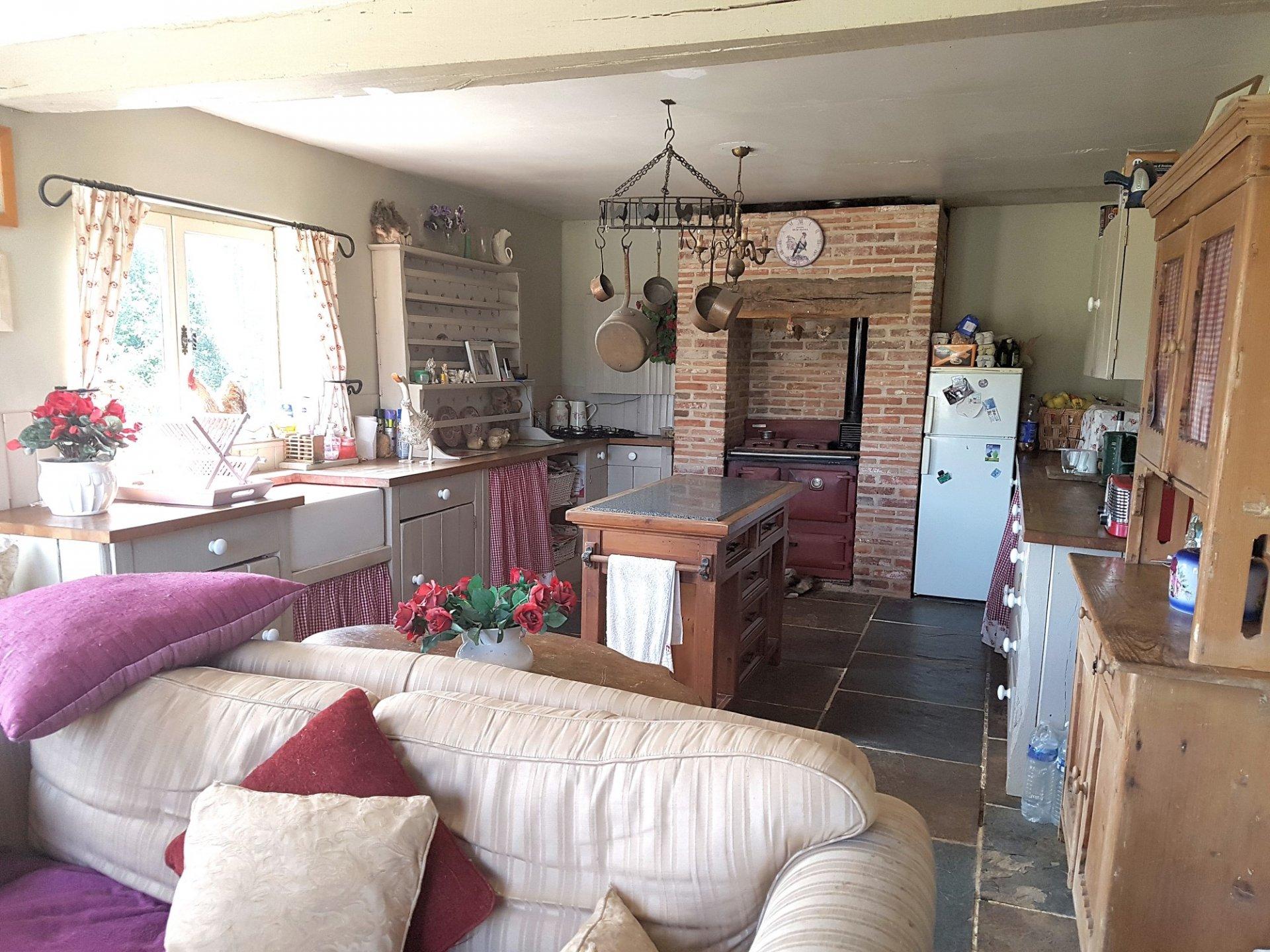 Maison avec terrain à vendre dans le sud de la Brenne 36