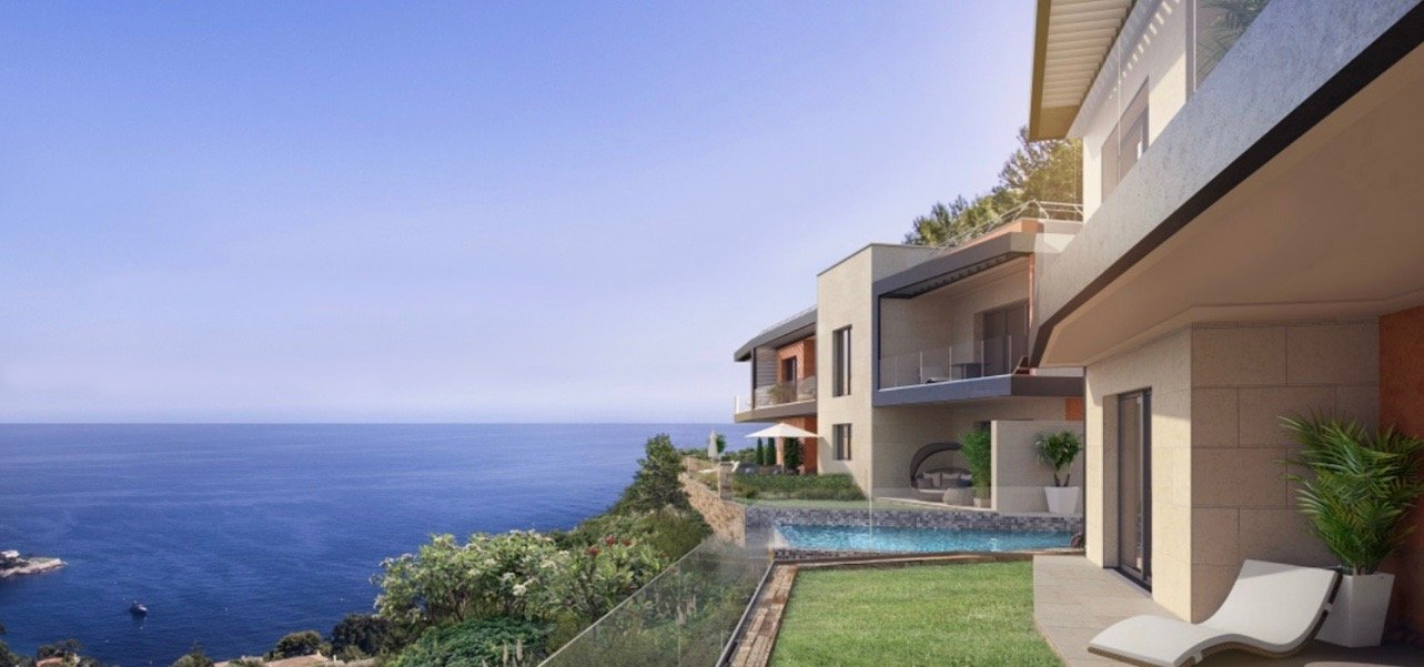 EZE - Exceptional 1 bed Apartment - Sea view - Swimming pool