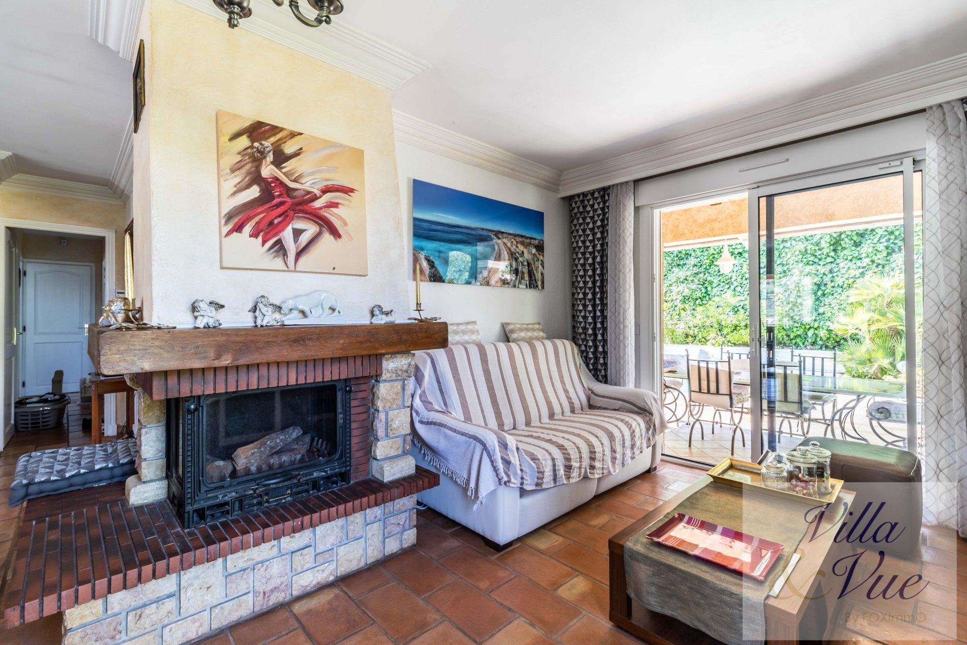 Côte d'Azur Nice  Villa indépendante St Antoine Ginestière très belle vue