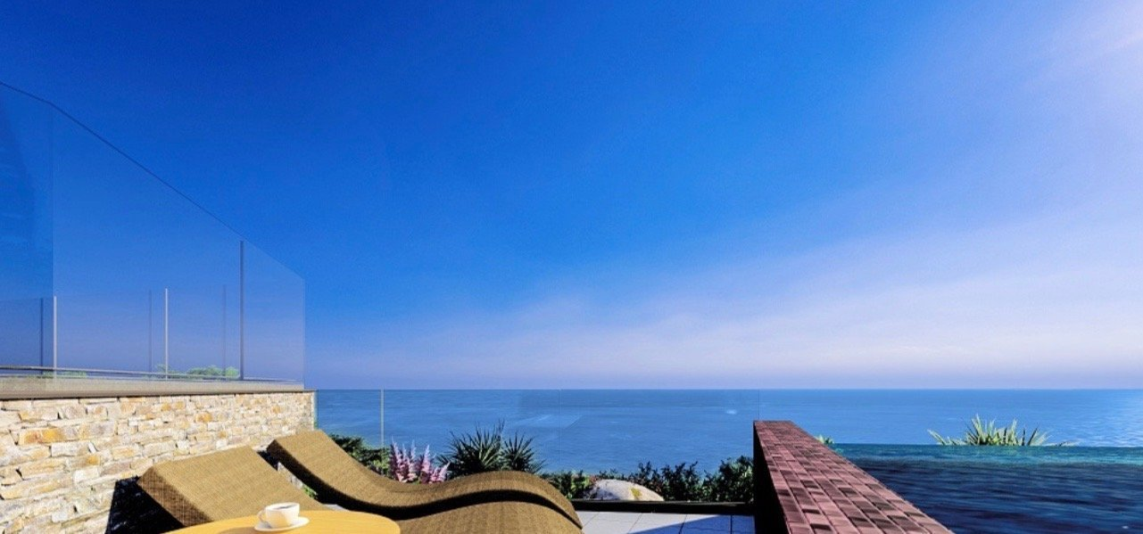 EZE - Exceptional 3 bed Apartment - Sea view - Swimming pool