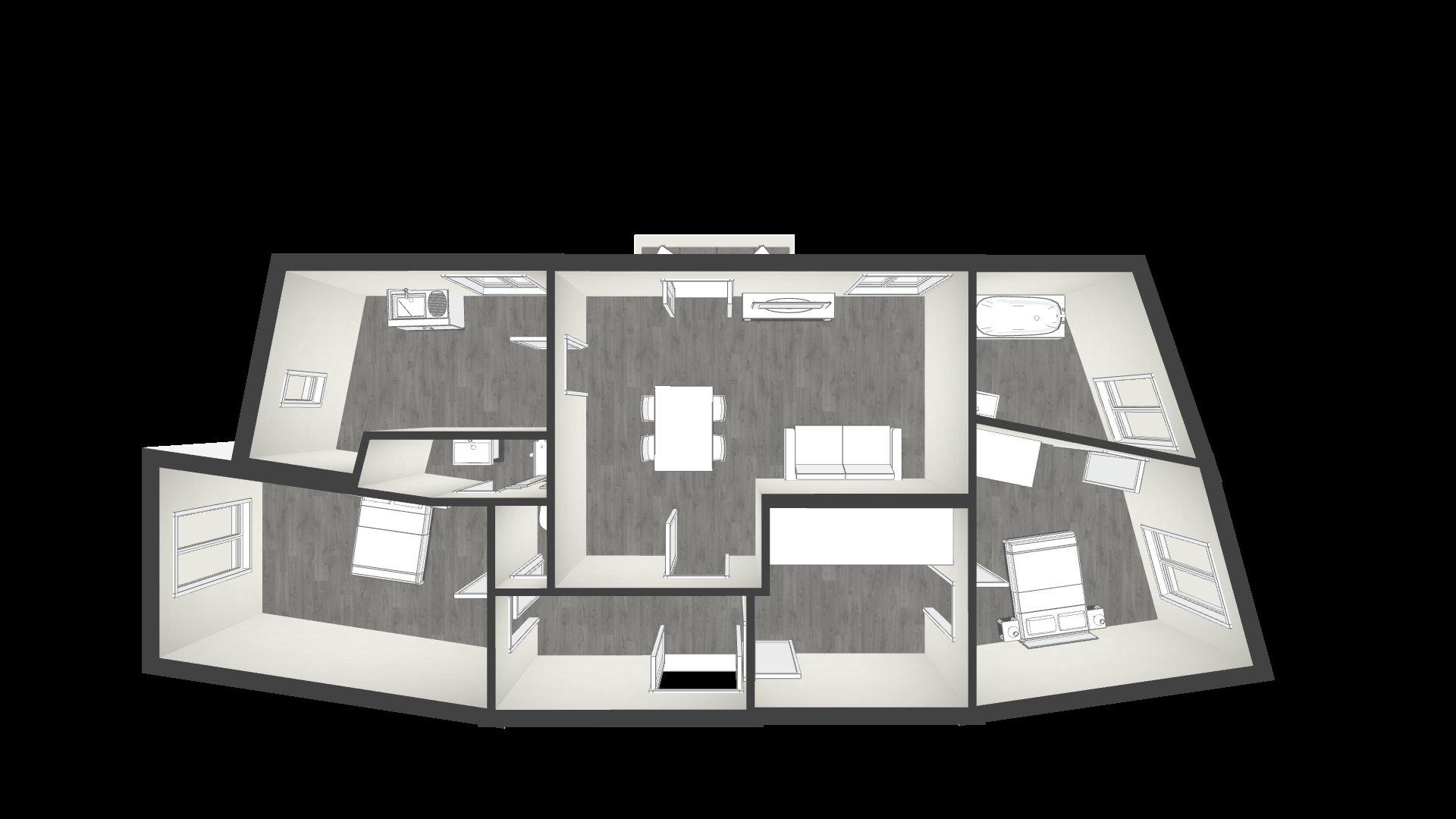 LIBERATION - Dernier étage ascenseur - 3P 80 m² - Balcon - Vue dégagée - 355.000 €