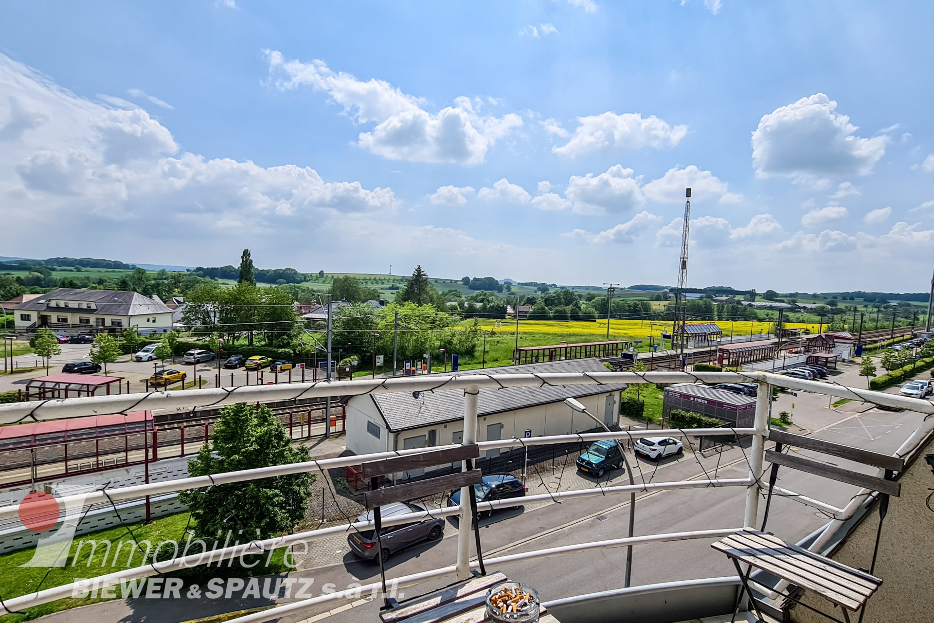 RESERVED - semi-furnished one-room flat in Dippach
