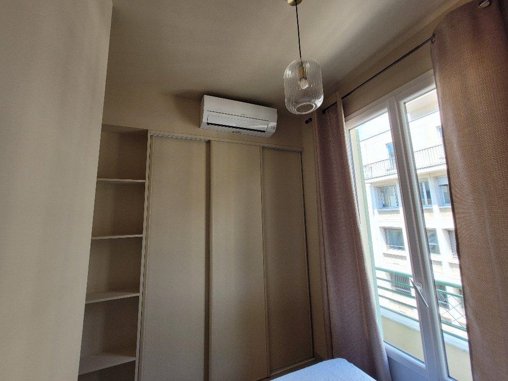 Location deux pièces meublé lycée Masséna centre ville