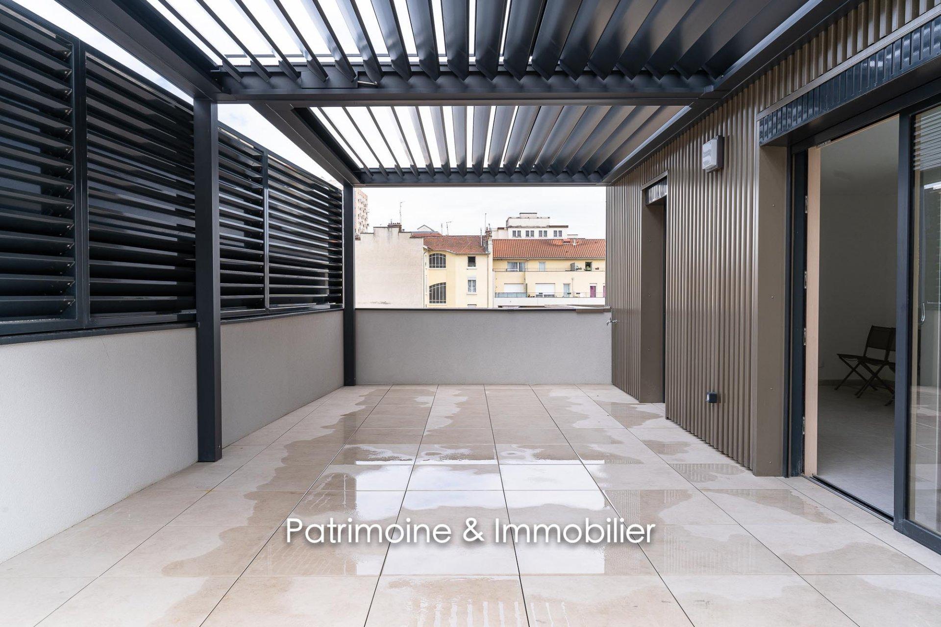 Villeurbanne proximité Gratte-Ciel - T4 110 m2 + Terrasse