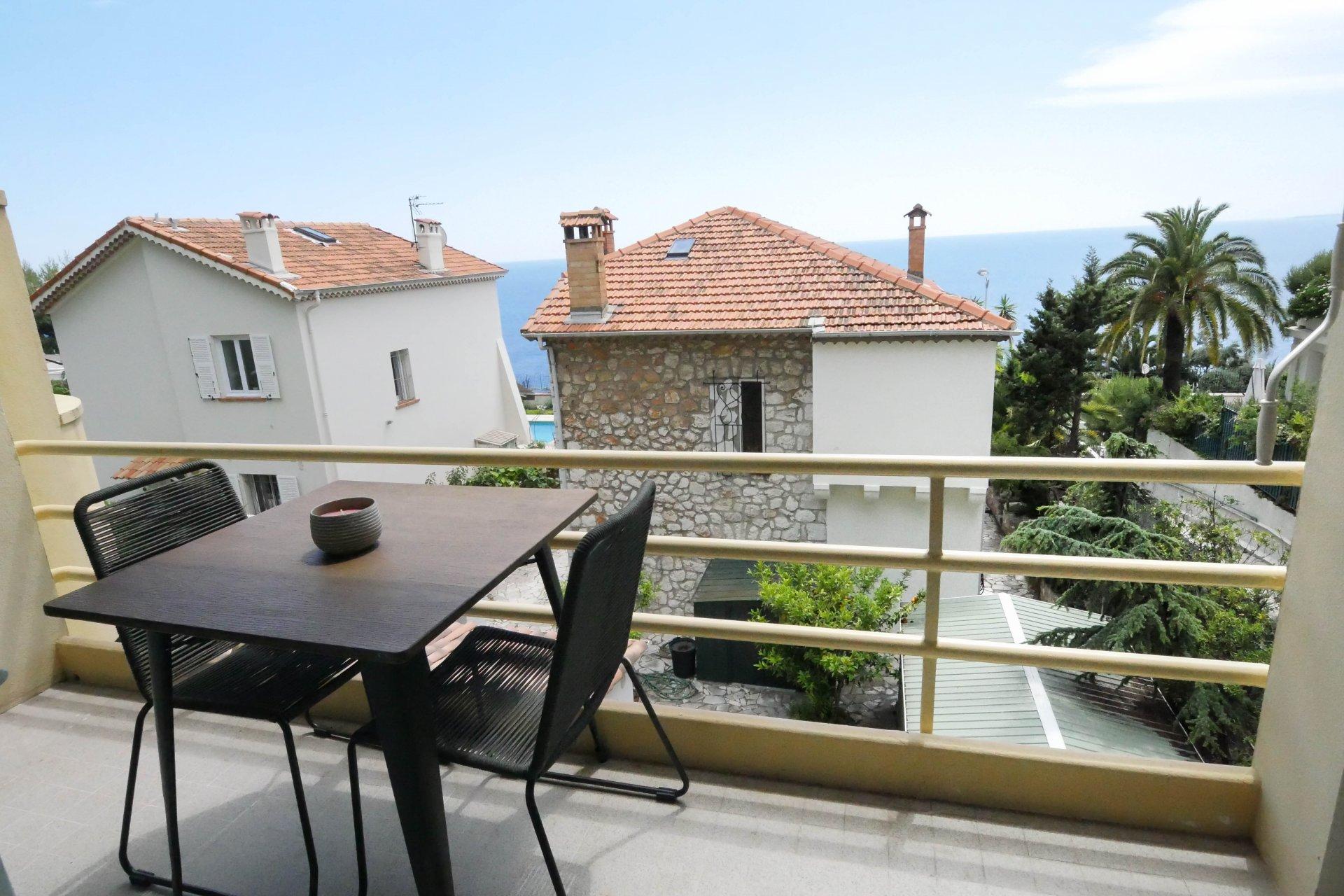 Unique 3 pièces avec terrasse Cap De Nice