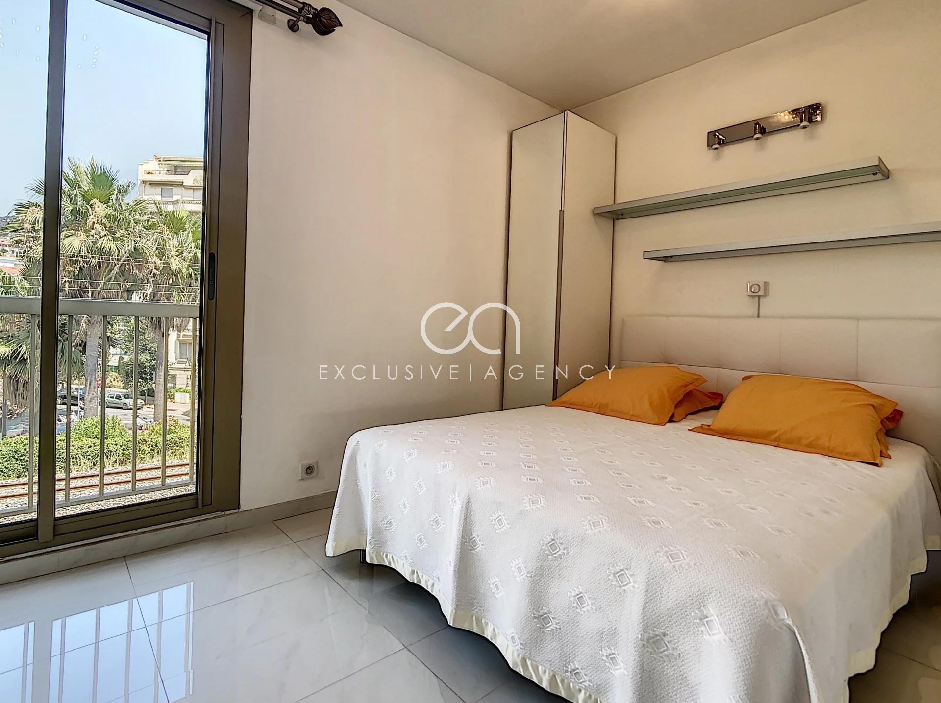 A vendre Cannes Croisette appartement 2 pièces 50m2 vue mer