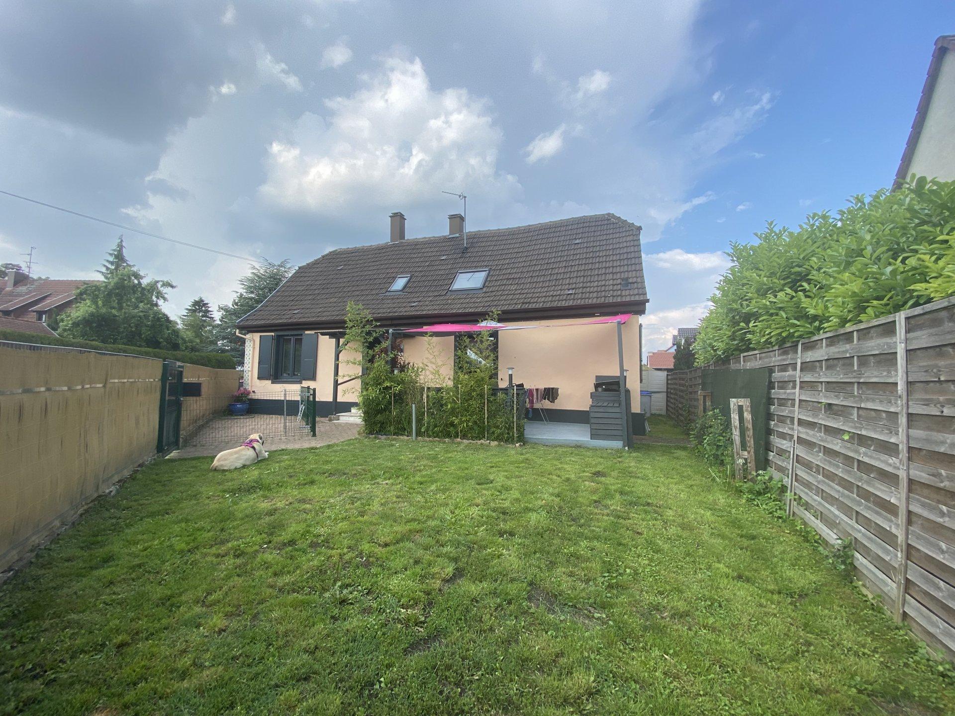 Strasbourg la Robertsau, maison avec jardin