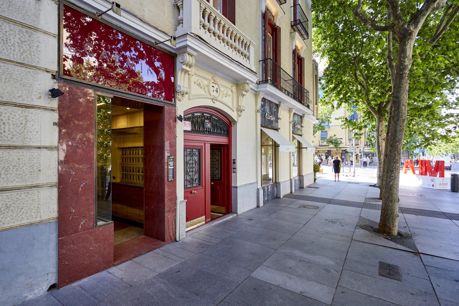 Rental Premises Madrid Castellana