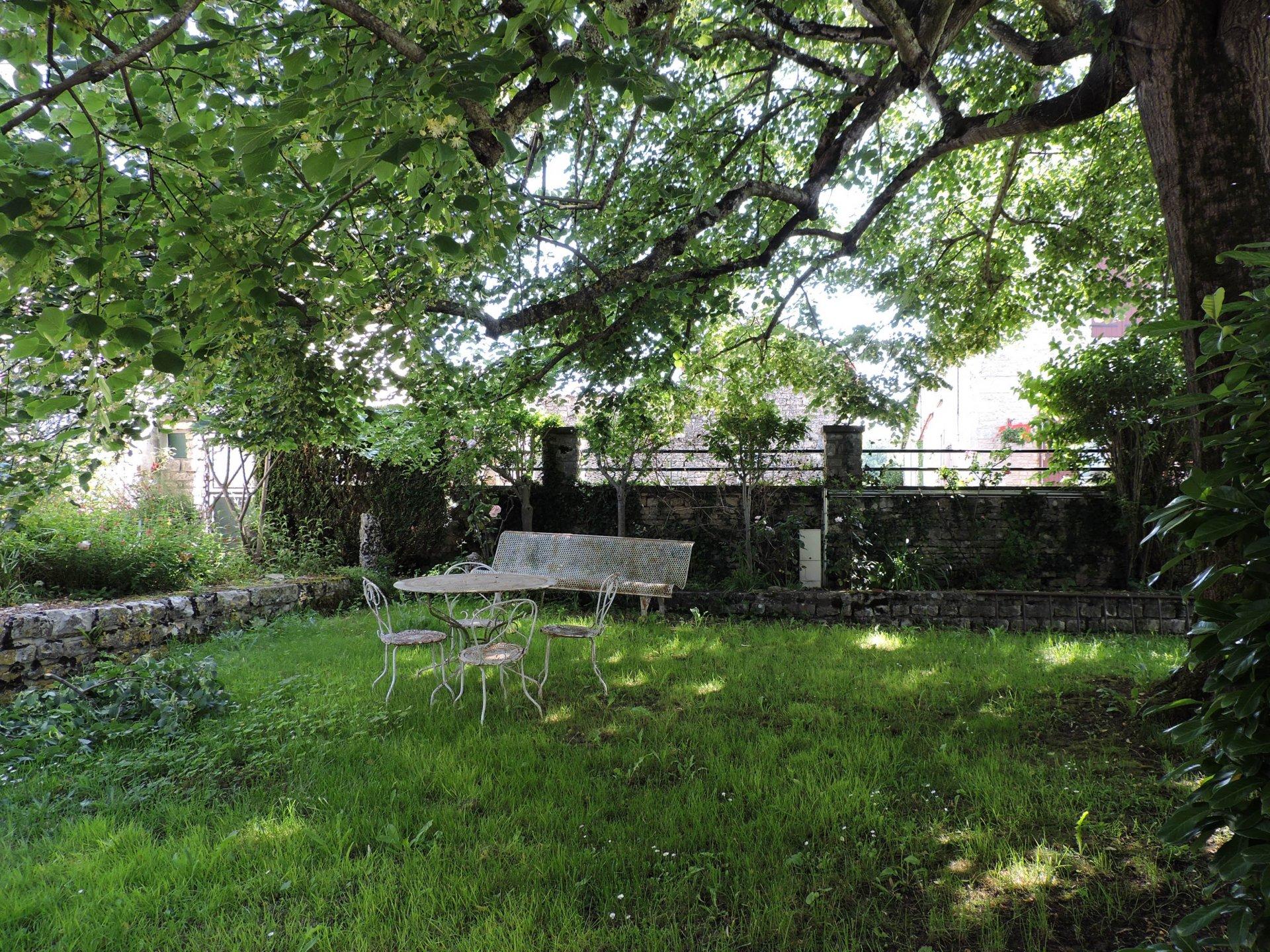 Village house with garden + building plot