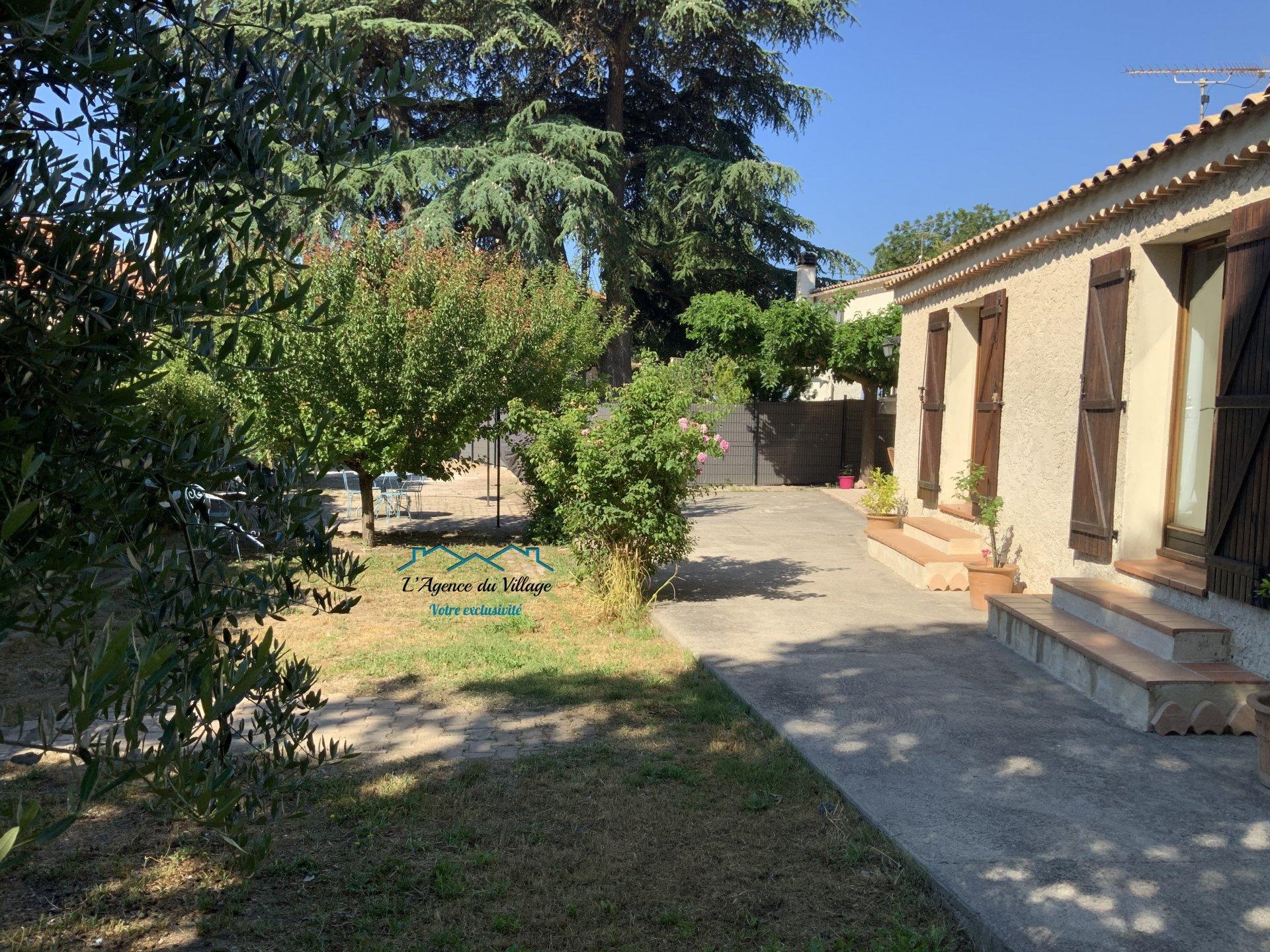 Maison Plain Pied 80 m² environ avec jardin