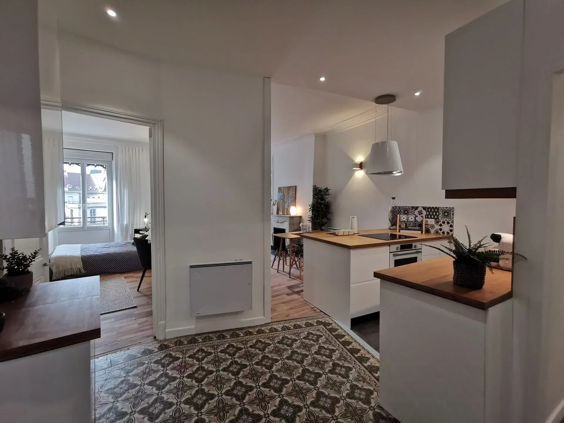 Large 61,97m², one bedroom apartment in central Grenoble