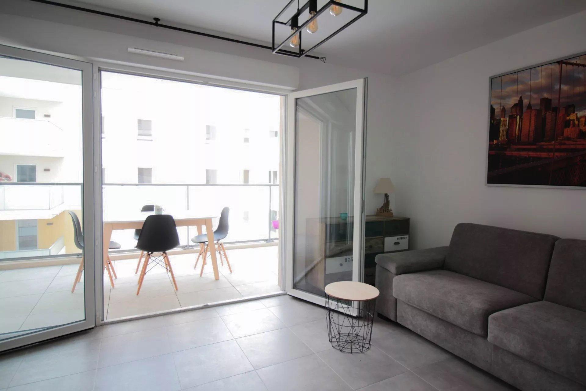Studio meublé 30m² Nice St Barthelemy