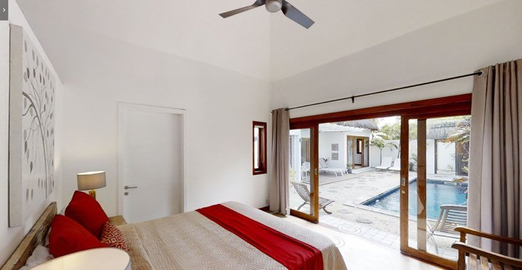 Close to the sea Balinese-style villa for rent