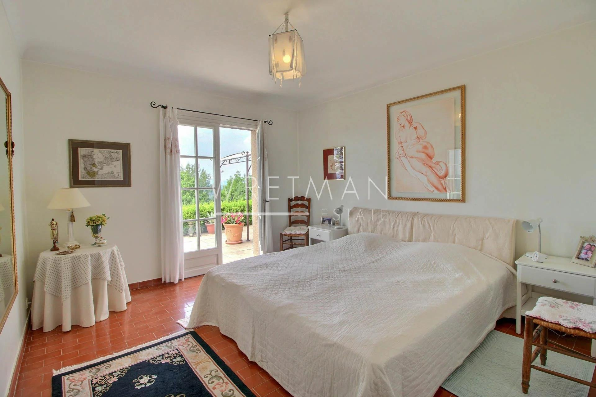 Villa with swimming pool and panoramic view - Callian