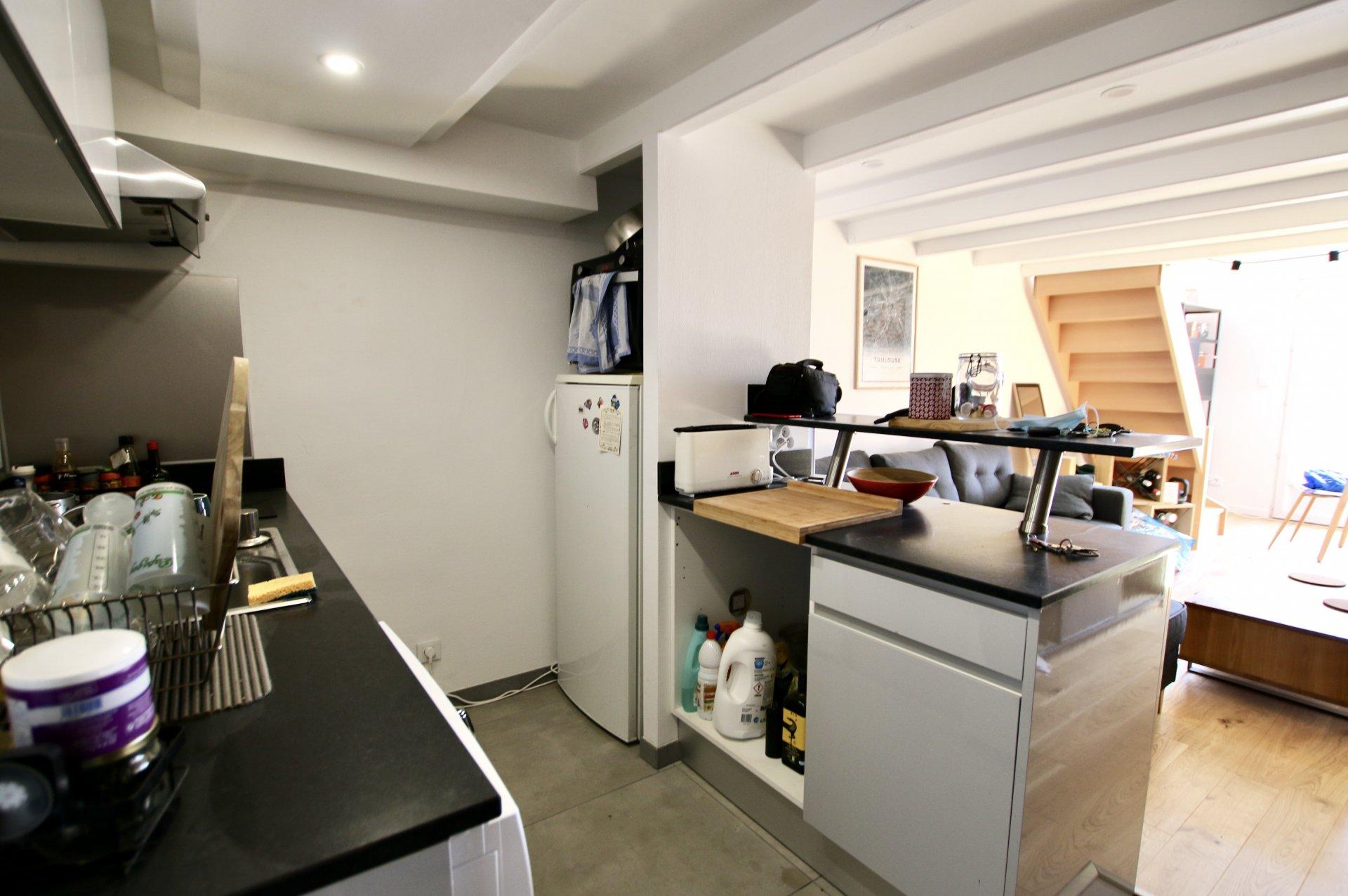 Appartement T2 en duplex de 45m2 avec balcon - Carmes