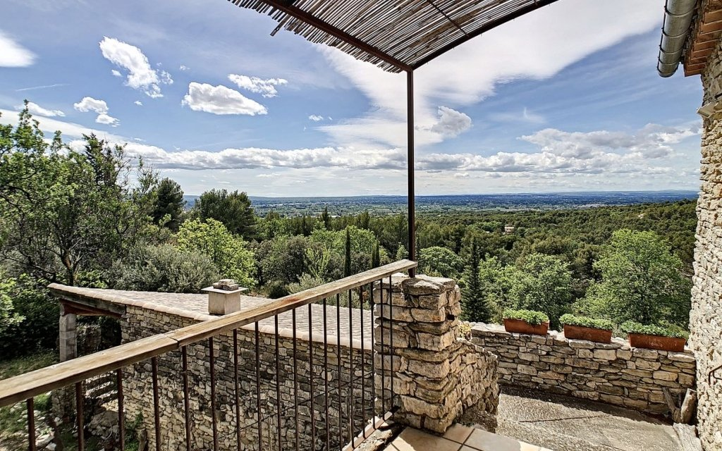 Stone property with views