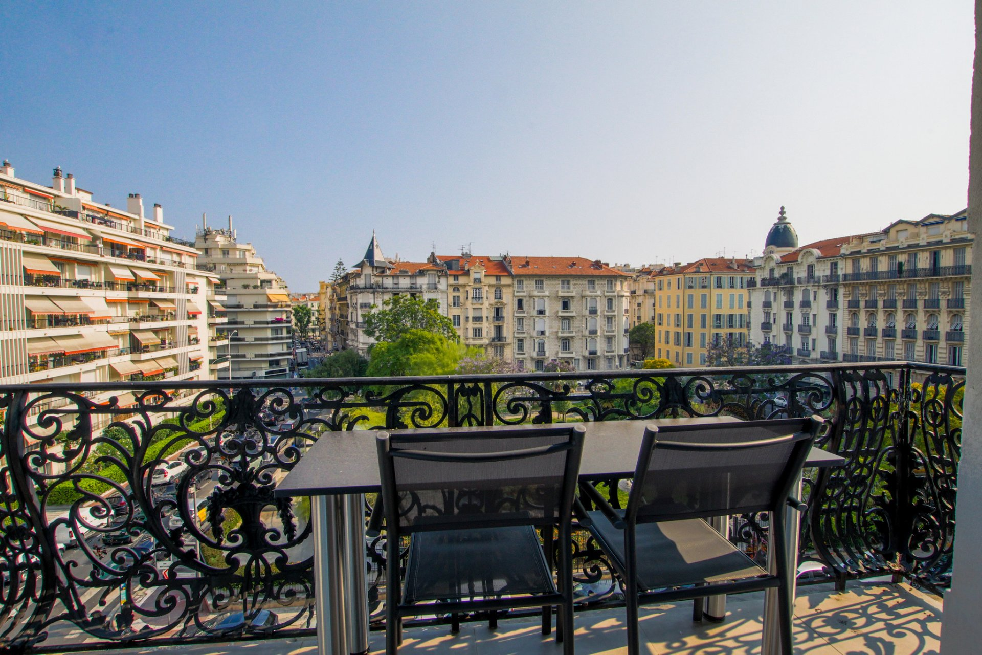 Nice Musiciens - Wonderfull4 bedrooms apartement with panoramic garden view.
