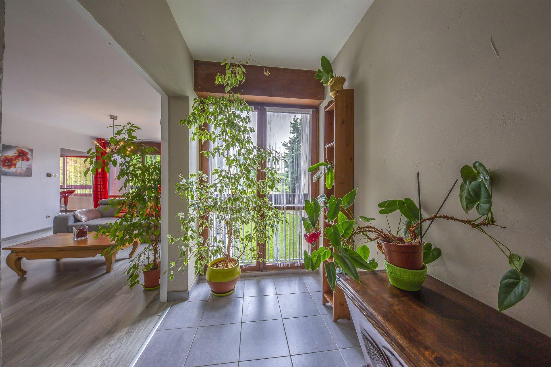 Le hall d'entrée de l'appartement