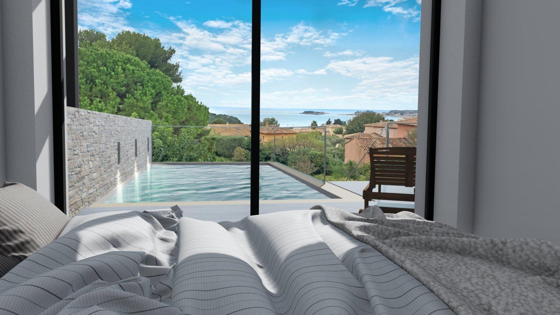 Villa de luxe vue Mer Sanary-sur-Mer FNR