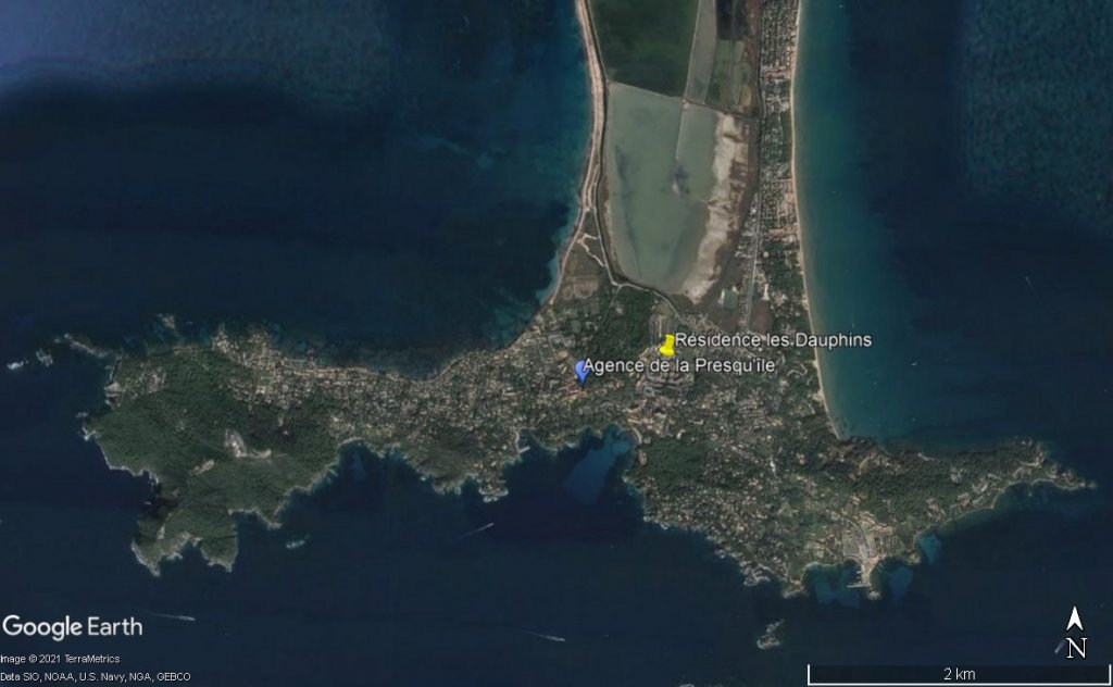 T2 dans résidence calme proche plage et village