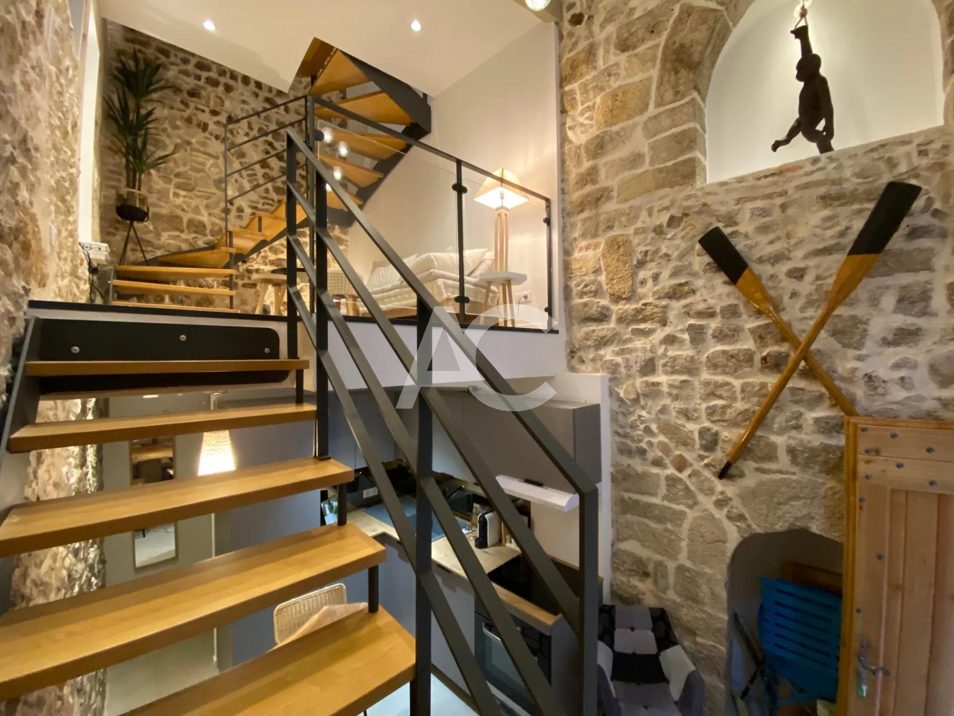 Renovated village house - Antibes Old Town